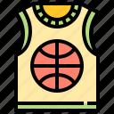 athletic, wear, sport, jersey, basketball