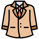 attire, business, clothing, man, suit icon