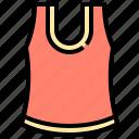 clothing, vest, undershirt, sleeveless, garment