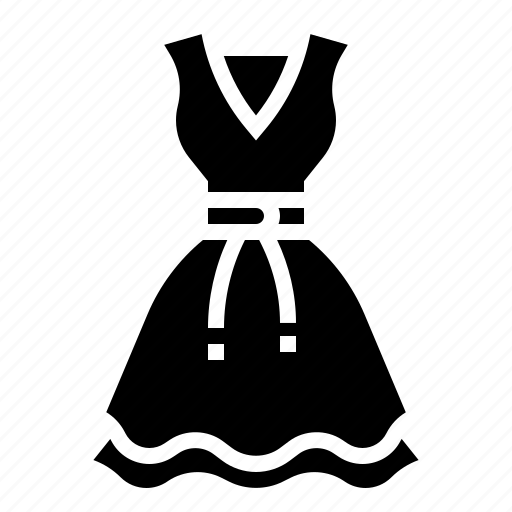 Clothing, dress, frock, gown, woman icon - Download on Iconfinder
