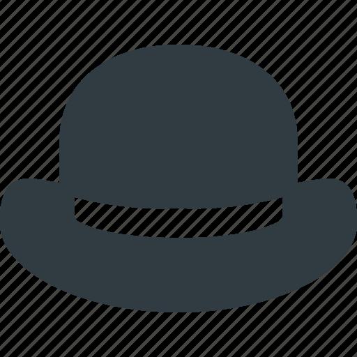 Bowler, gentleman, hat icon - Download on Iconfinder