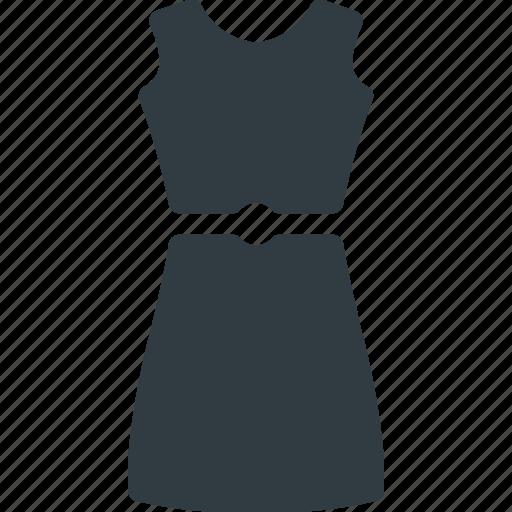 dress, festive, skirt, woman icon