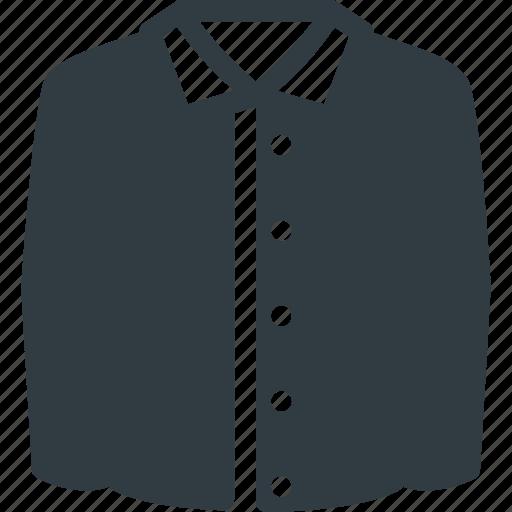 Full, shirt, business icon