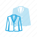 business, cloth, coat, siute icon