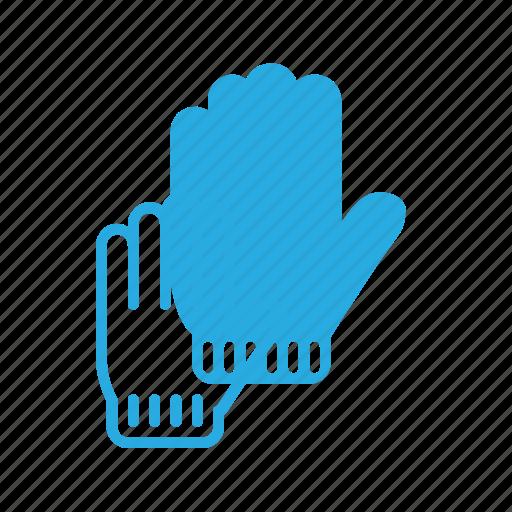 corl, glove, winter icon