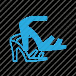 heel, heels, high, higheels, sandal icon