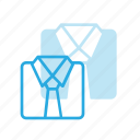 business, elegant, fold, folded, shirt icon