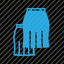 cloth, fasshion, skirt icon