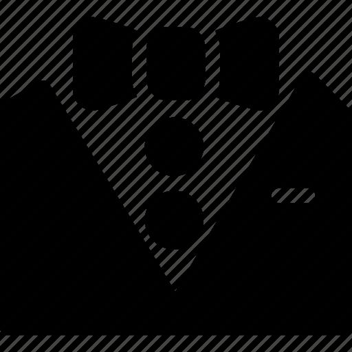 bow, coat, creative, formal, grid, shape, style, suit, tux, tuxedo icon