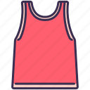 clothes, outfit, shirt, singlet, sport, vest icon