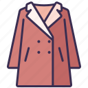 clothes, coat, fashion, jacket, outfit, suit, winter icon