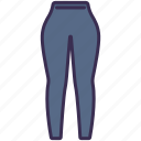 clothes, legging, outfit, pants, sport, wearing