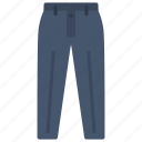 clothes, formal, outfit, pants, slacks, striped, trousers icon