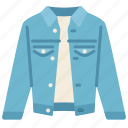 clothes, fashion, jeans, long, outfit, shopping, sleeve icon