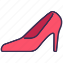 clothes, fashion, heel, high, outfit, shoe, shopping icon