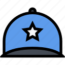 accessories, cap, clothes, clothes shop, footwear icon