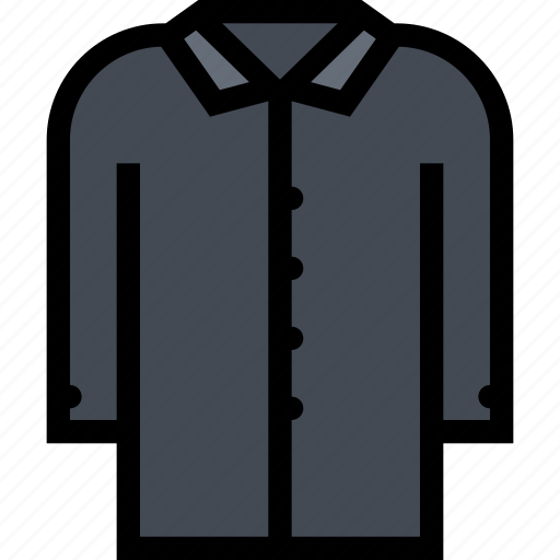 accessories, clothes, clothes shop, coat, footwear icon