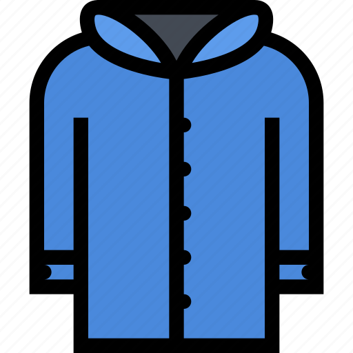 accessories, clothes, clothes shop, footwear, jacket icon