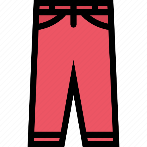 accessories, clothes, clothes shop, footwear, pants icon