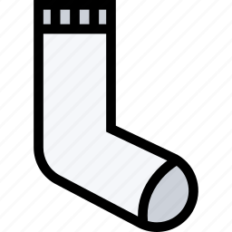 accessories, clothes, clothes shop, footwear, socks icon
