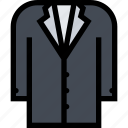 accessories, clothes, clothes shop, footwear, suit icon