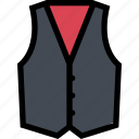 accessories, clothes, clothes shop, footwear, vest icon