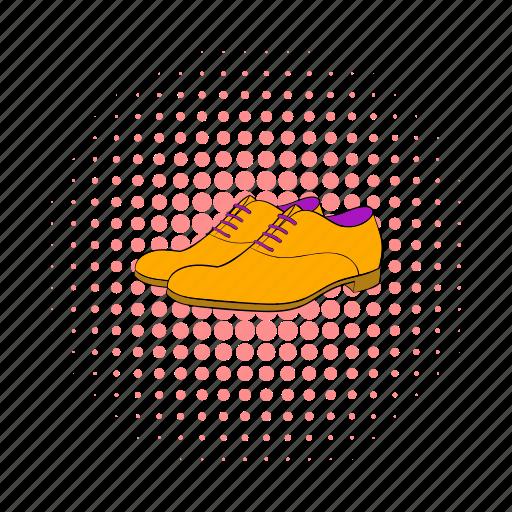 comics, fashion, footwear, leather, male, men, shoes icon