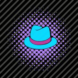 classic, clothes, comics, fashion, gentleman, hat, men icon