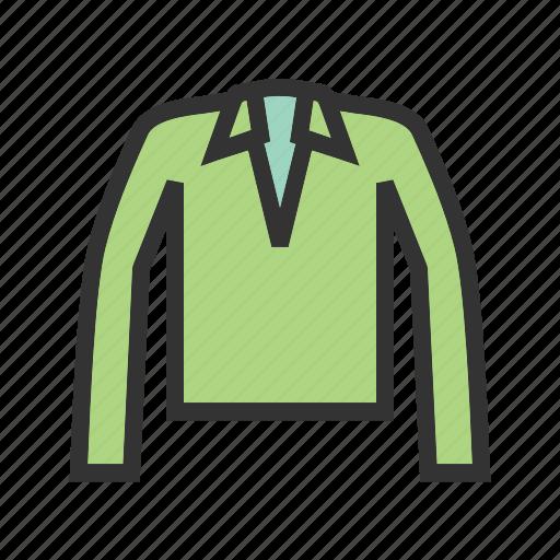 casual, clothes, clothing, collar, fashion, polo, shirt icon