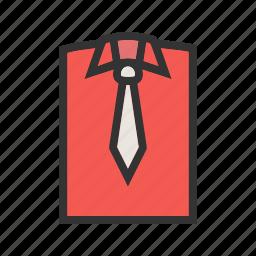 businessman, dress, fashion, male, shirt, suit, tie icon