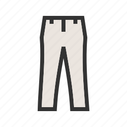clothes, design, dress, fashion, outfit, pants, trousers icon