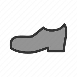 boots, design, fashion, hiking, leather, men, shoe icon