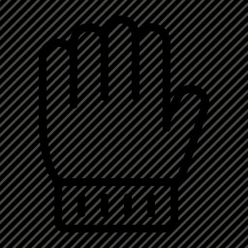 glove, gloves, hand, ios, mitten, warm, winter icon