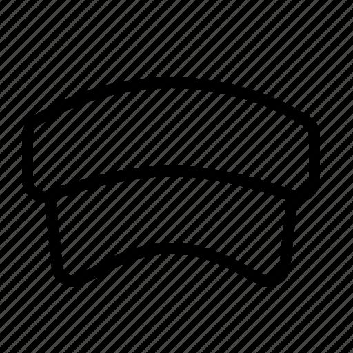 cap, hat, ios, screen, shade, sun, visor icon