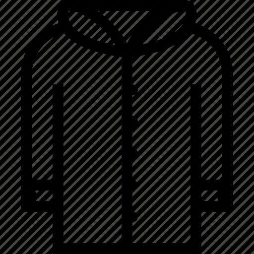 accessories, clothes, clothes shop, footwear, jacket icon