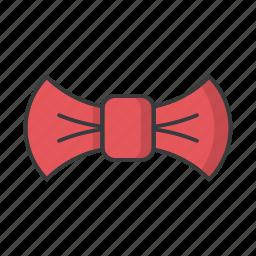 bow, christmas, gift, ribbon, tie icon