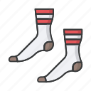 christmas, fashion, feet, footwear, sock, socks icon