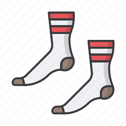christmas, fashion, feet, footwear, sock, socks icon