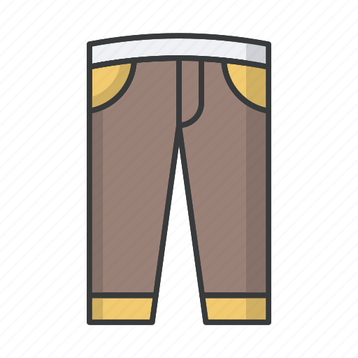 clothes, clothing, fashion, pants, trousers icon