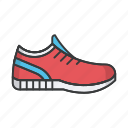 fashion, footwear, man, sneakers, speakers icon