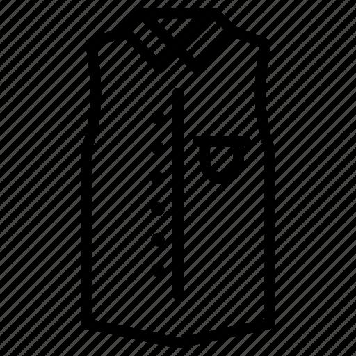 Casual, dress, long, shirt, sleeveless, sweatshirt, tunic icon - Download on Iconfinder