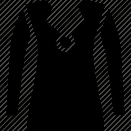 button design, casual v-neck pullover, cotton blend. cardigan icon