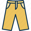 baggy trouser, breeches, combat trouser, golf trouser icon
