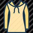 capuche, fashion baby hoodie, fashion winter warm coat for children, girls zipper polo coat icon