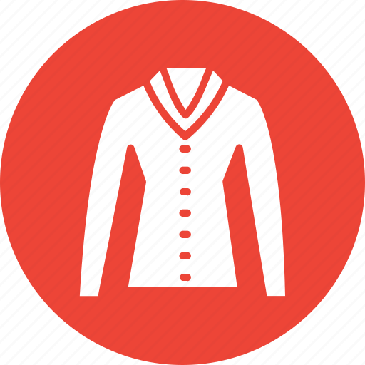 business long sleeve cotton shirt, casual shirt, dress shirt, formal check cotton shirt icon