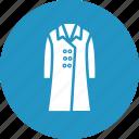 clothing, fashion, garment, long coat icon
