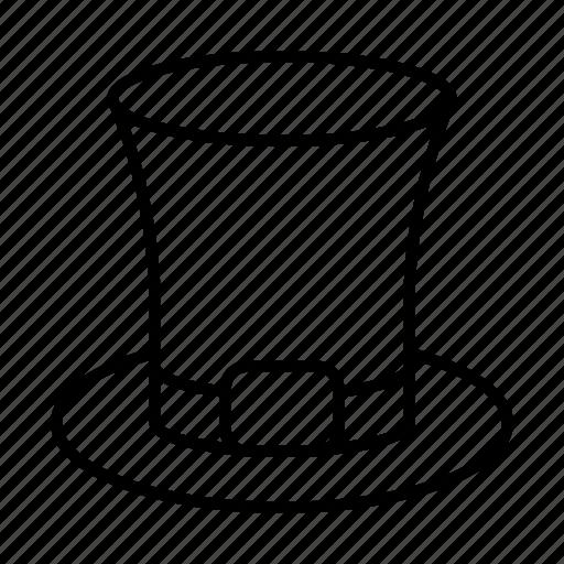 cap, cylinder hat, fashion, hat, wizard icon