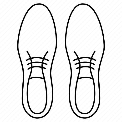 footwear, leather, man, shoelace, shoes, shoestring icon