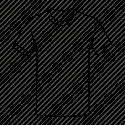 apparel, clothing, men, tee shirt, tshirt icon