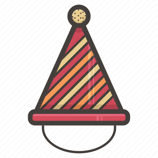 hat, holiday, party icon
